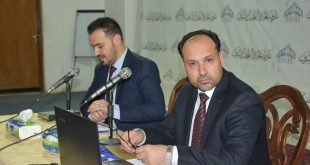 امسية رمضانية في غرفة تجارة النجف بالتعاون مع جامعة الكوفة حول التنمية الاقتصادية
