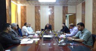 مجلس ضمان الجودة  في الكلية يعقد اجتماع يخص تحضيرات الاقسام للجنة الوزارية الخاصة بالتصنيف الوطني