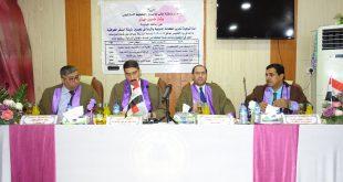 مناقشة رسالة ماجستير حول (استراتيجية تعزيز المكانة الدولية واثرها في تحسين وثيقة السفر العراقية)